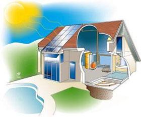 le chauffage central peut tre au gaz au fioul au bois lectrique pompe chaleur solaire. Black Bedroom Furniture Sets. Home Design Ideas