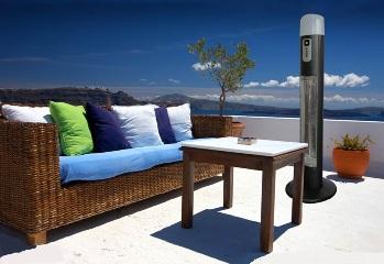 chauffage ext rieur pour prolonger les soir es fra ches. Black Bedroom Furniture Sets. Home Design Ideas