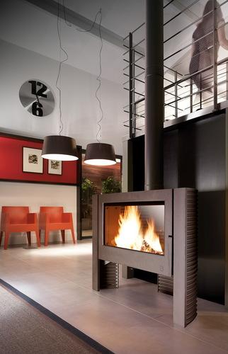 Le chauffage au bois, les différents émetteurs de chauffage