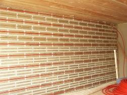 le mur chauffant hydraulique les metteurs de chauffage. Black Bedroom Furniture Sets. Home Design Ideas